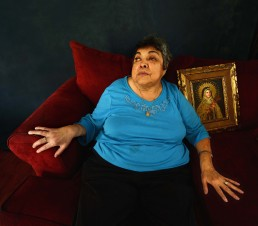 Portrait of Olga Gonzalez – Administrator of Mission Concepciòn